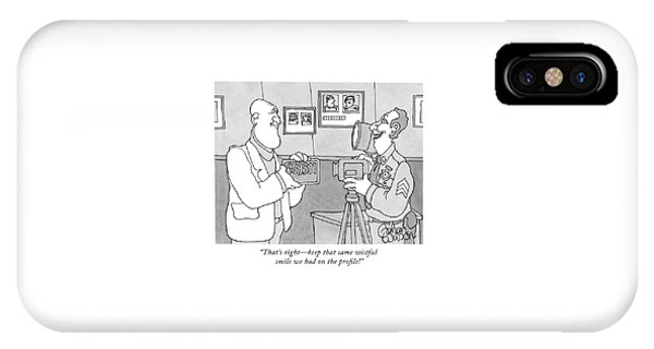 That's Right - Keep That Same Wistful Smile IPhone Case