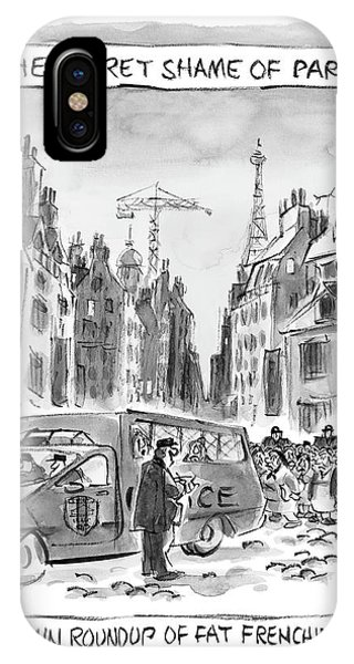 The Secret Shame Of Paris IPhone Case