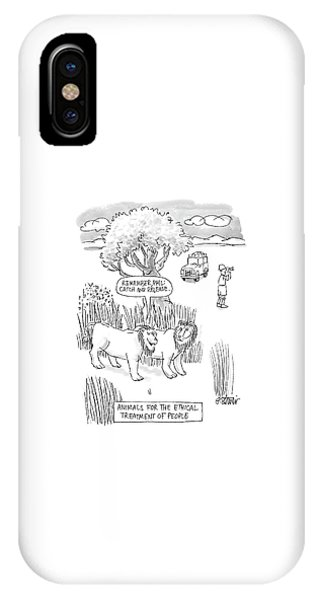 New Yorker April 24th, 2000 IPhone Case