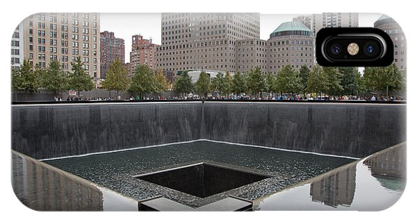 911 Memorial Pool Nyc IPhone Case