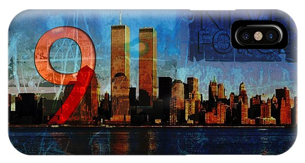 911 Never Forget IPhone Case