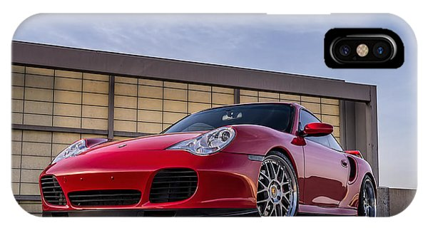 Mancave iPhone Case - 911 Twin Turbo by Douglas Pittman