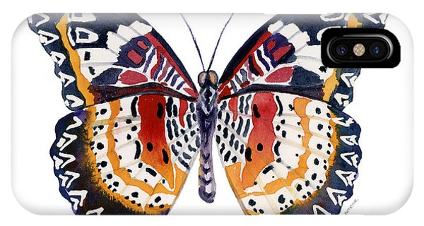 94 Lacewing Butterfly IPhone Case