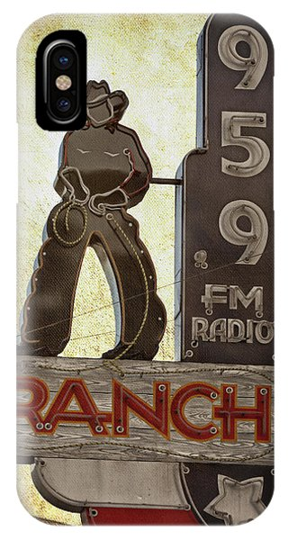 95.9 The Ranch IPhone Case