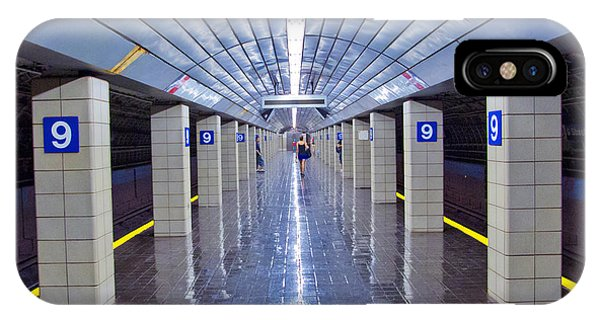 Railroad Station iPhone Case - 9th Street Station by Marco Crupi
