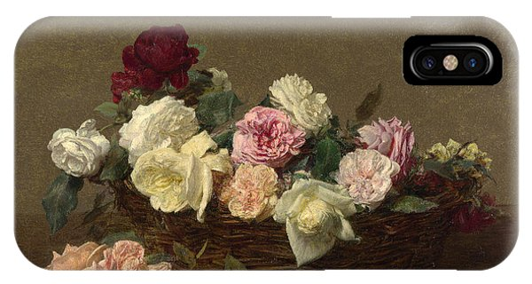 A Basket Of Roses IPhone Case