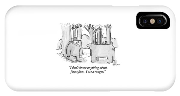 A Bear Wearing A Ranger Hat Addresses Another IPhone Case