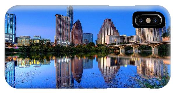 A Beautiful Austin Evening IPhone Case