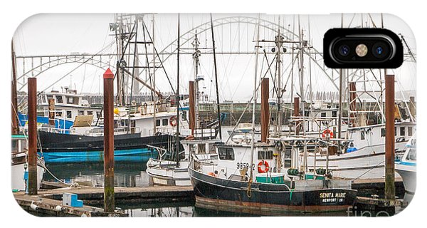A Beautiful Day In Newport Oregon IPhone Case