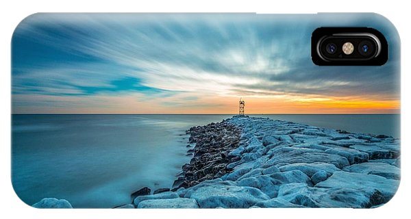 A Beautiful Sunrise At The Old Scituate Lighthouse IPhone Case