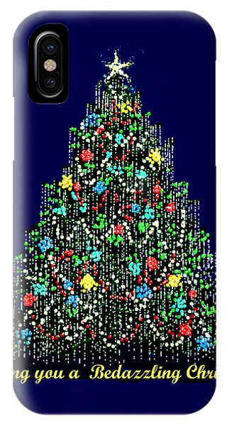 A Bedazzling Christmas IPhone Case
