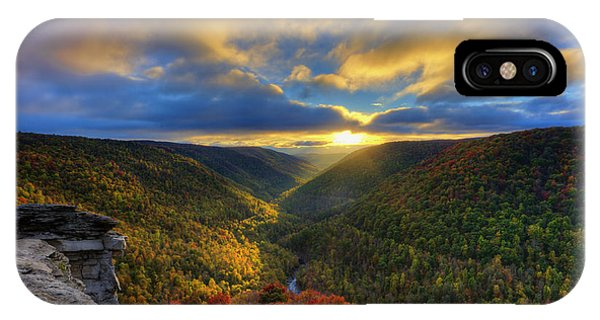 IPhone Case featuring the photograph A Blue And Gold Sunset by Dan Friend