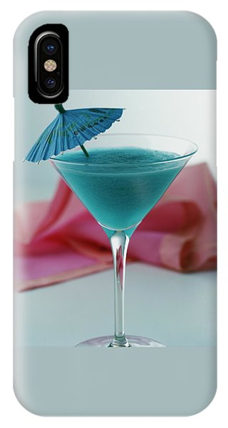 A Blue Hawaiian Cocktail IPhone Case