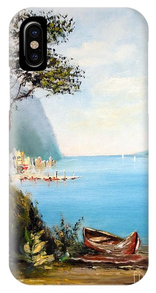 A Boat On The Beach IPhone Case