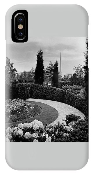 A Bobbink & Atkins Garden IPhone Case