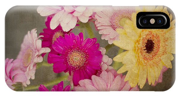 A Bouquet Of Gerbera Daisies IPhone Case