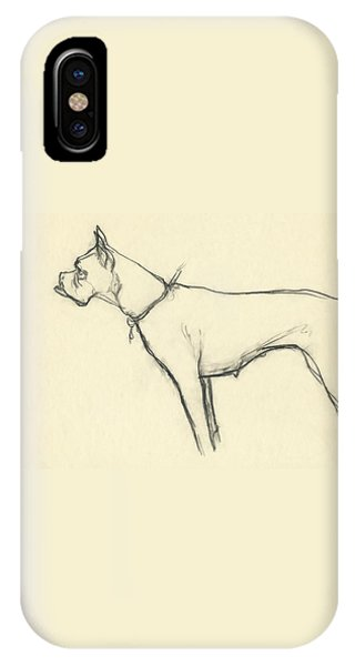 A Boxer Dog IPhone Case
