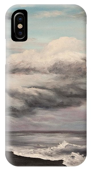 Hawaiian Sunset iPhone Case - A Break In The Storm by Darice Machel McGuire