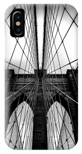 Fog iPhone Case - A Brooklyn Perspective by Az Jackson