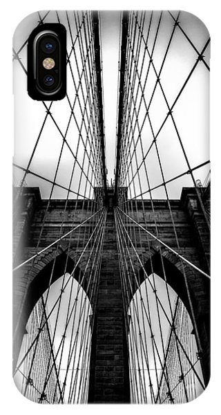 Famous Artist iPhone Case - A Brooklyn Perspective by Az Jackson