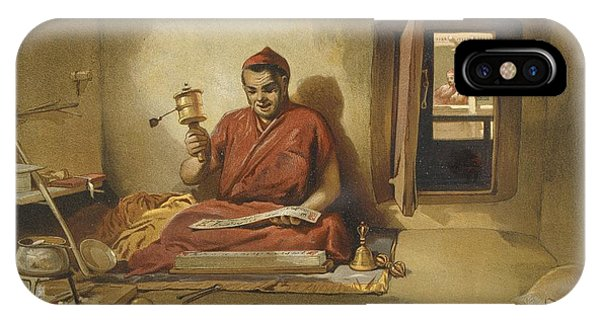 A Buddhist Monk, From India Ancient IPhone Case