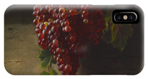 Andrew iPhone Case - A Bunch Of Grapes by Andrew John Henry Way