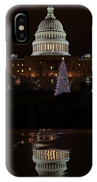 A Capitol Reflection IPhone Case