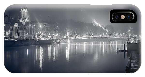 IPhone Case featuring the photograph A Cathedral In The Mist II by Stwayne Keubrick