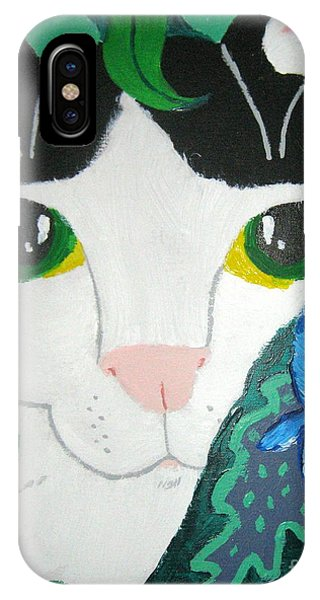 A Cat's Fancy IPhone Case