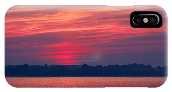 A Chesapeake Bay Sunrise IPhone Case