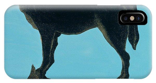 Barren iPhone Case - A Chestertown Moment , 1999 by Marjorie Weiss