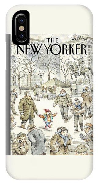 Coat iPhone Case - Winter Delight by John Cuneo
