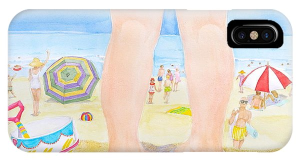 A Child Remembers The Beach IPhone Case