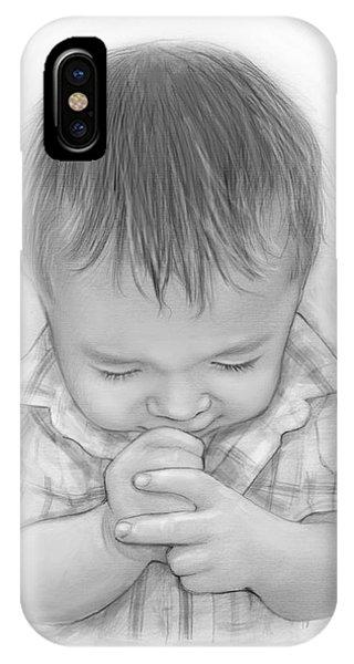 Faith iPhone Case - A Child's Payer by Greg Joens