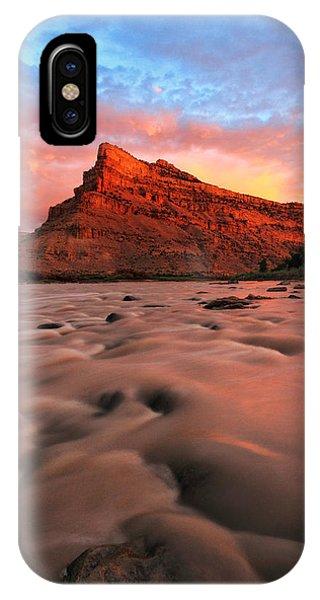 A Chocolate Milk River IPhone Case