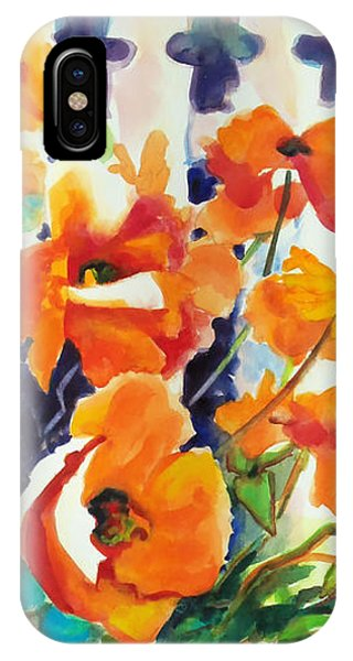 A Choir Of Poppies IPhone Case