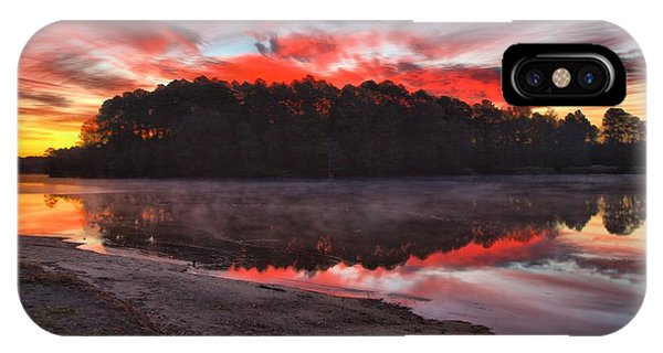 A Christmas Eve Sunrise IPhone Case
