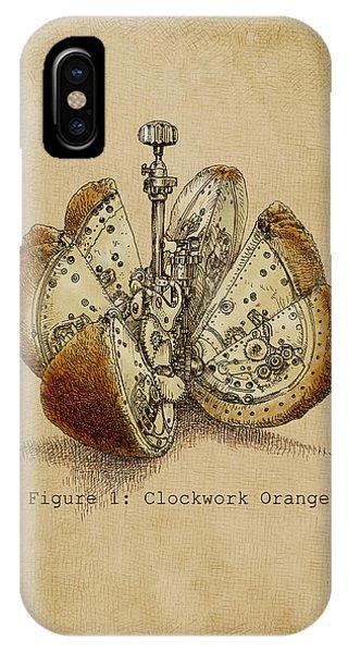 Fruit iPhone Case - Steampunk Orange - Option by Eric Fan