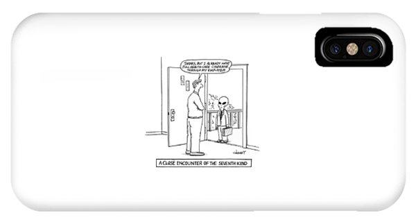 A Close Encounter Of The Seventh Kind IPhone Case