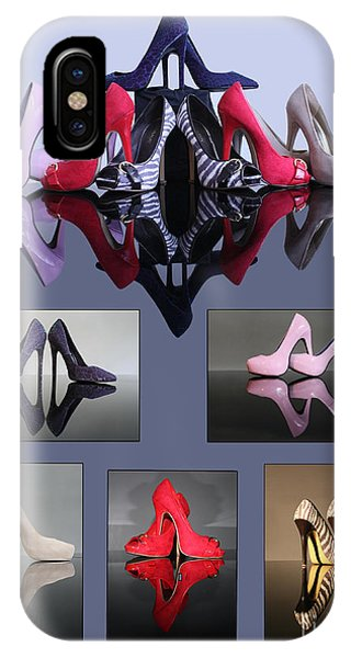 A Collection Of Stiletto Shoes IPhone Case