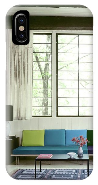 A Colourful Living Room IPhone Case