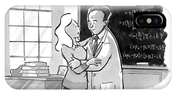 A Concerned Woman Embraces Dr. Heisenberg IPhone Case