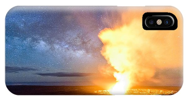 A Cosmic Fire IPhone Case
