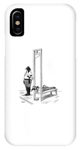 A Court Jester Is Awaiting The Guillotine IPhone Case