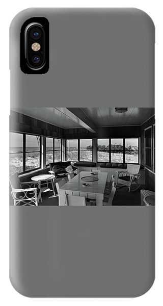 A Covered Porch With A View IPhone Case