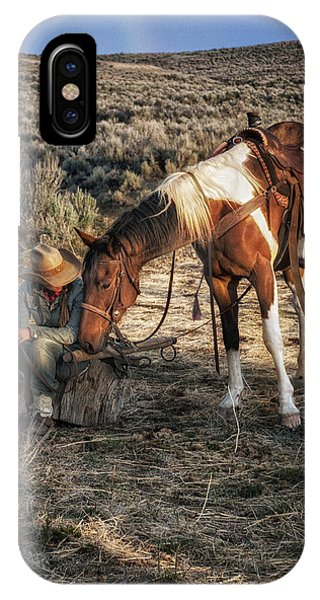 A Cowgirls Best Friend IPhone Case