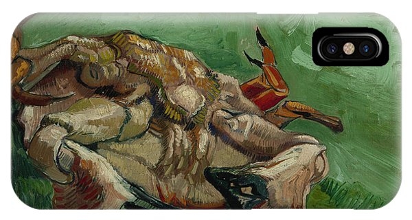 A Crab On Its Back Phone Case by Vincent van Gogh