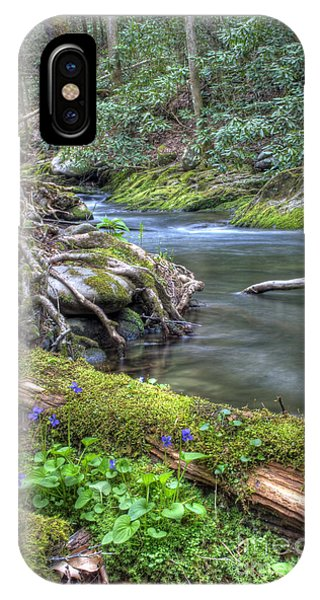 A Creek Side Hike IPhone Case