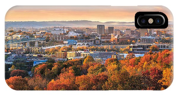 A Crisp Fall Morning In Chattanooga  IPhone Case
