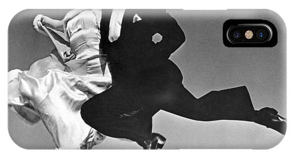 Dance iPhone Case - A Dance Team Does The Rhumba by Underwood Archives